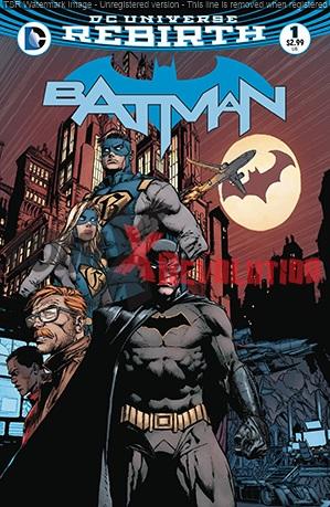 Batman Rebirth n.1