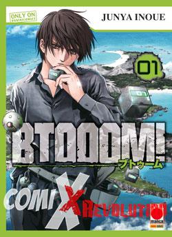 copertina COMIXREVOLUTION-BTOOOM-1-RISTAMPA-9788891262783
