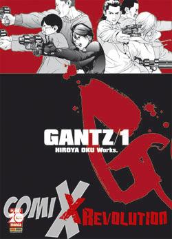 copertina COMIXREVOLUTION-GANTZ-1-NUOVA-EDIZIONE-RISTAMPA-9788891262721