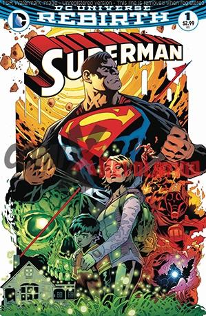 Superman DC Universe Rebirth n.1