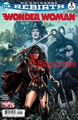 Wonder Woman DC Universe Rebirth n.1
