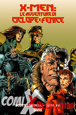 copertina COMIXREVOLUTION-MARVEL-HISTORY-X-MEN-LE-AVVENTURE-DI-CICLOPE-E-FENICE-9788891218674