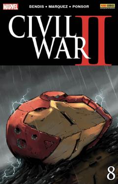 copertina COMIXREVOLUTION-CIVIL-WAR-II-8-977112423090170183-977112423000070183
