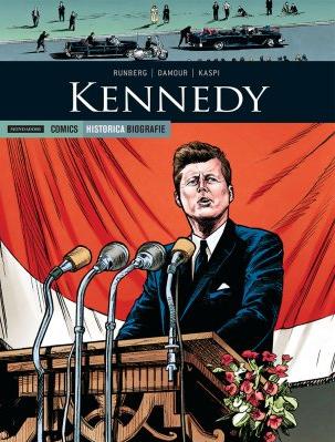 copertina COMIXREVOLUTION-HISTORICA-BIOGRAFIE-1-KENNEDY-9788869264603