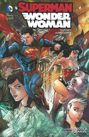 copertina COMIXREVOLUTION-SUPERMAN-WONDER-WOMAN-NEW52-LIBRARY-1-9788869719967