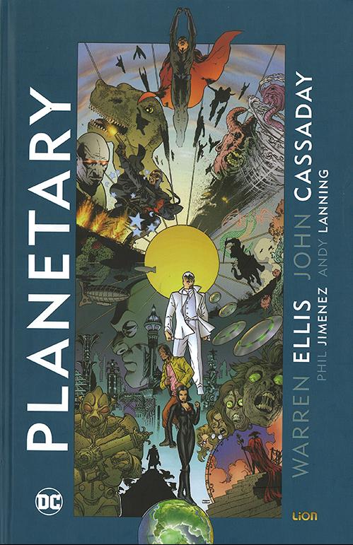 copertina COMIXREVOLUTION-PLANETARY-1-9788893515658