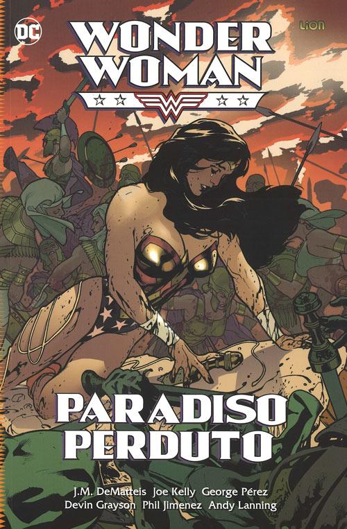 copertina COMIXREVOLUTION-WONDER-WOMAN-PARADISO-PERDUTO-DC-UNIVERSE-LIBRARY-9788893517904