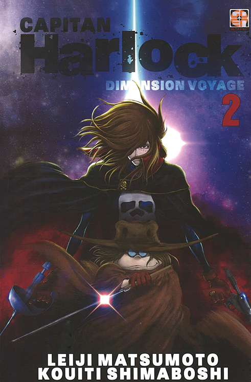 copertina COMIXREVOLUTION-CAPITAN-HARLOCK-DIMENSION-VOYAGE-2-9788867126477