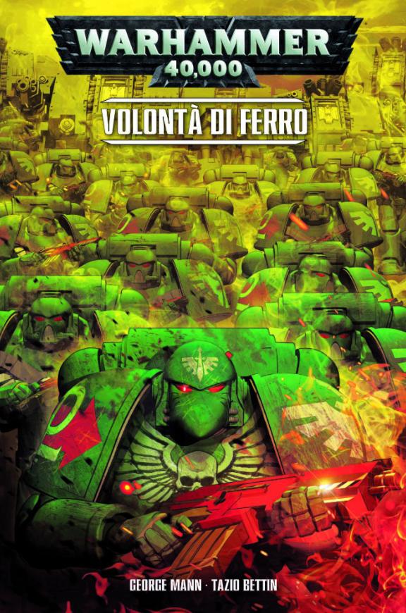 copertina COMIXREVOLUTION-WARHAMMER-40000-VOLOTA-DI-FERRO-9788891230621