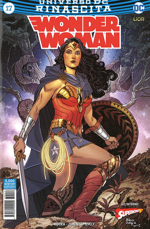 copertina COMIXREVOLUTION-WONDER-WOMAN-REBIRTH-17-977228440200970049-9788833040073