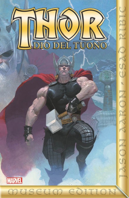 copertina COMIXREVOLUTION-THOR-GOD-OF-THUNDER-LIMITED-GOLD-EDITION-9788891233165