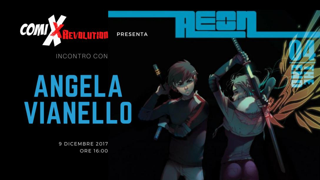 Incontro con Angela Gumitien Vianello a ComiXrevolution