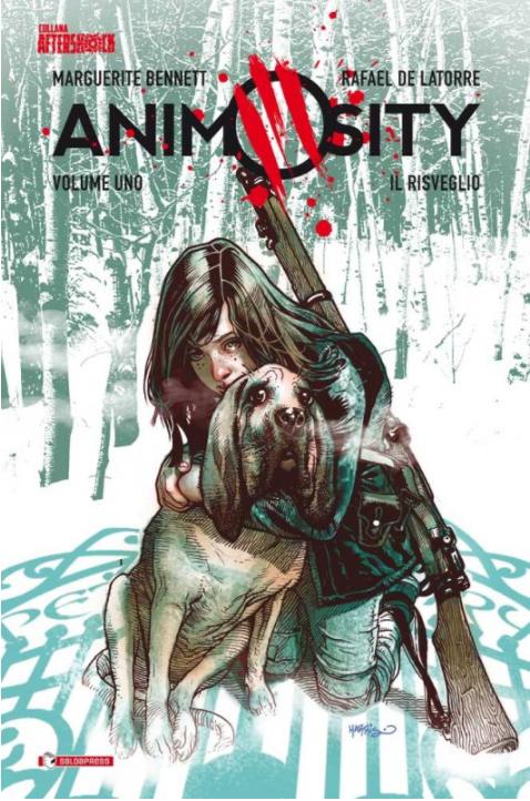 copertina COMIXREVOLUTION-ANIMOSITY-1-9788869193385