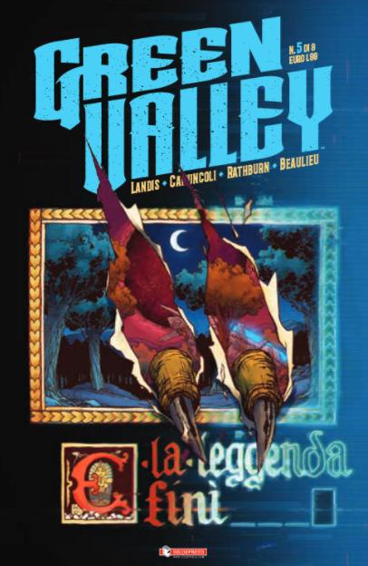 copertina COMIXREVOLUTION-GREEN-VALLEY-5-DI-9-9788869193026