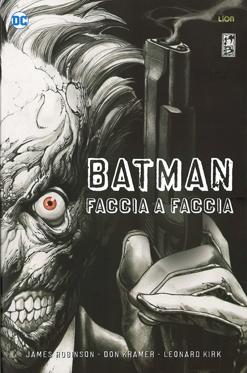 copertina COMIXREVOLUTION-BATMAN-LIBRARY-BATMAN-FACCIA-A-FACCIA-9788833041889