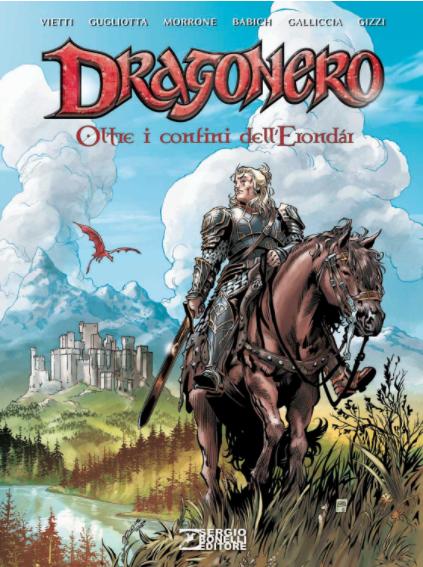 copertina COMIXREVOLUTION-DRAGONERO-OLTRE-I-CONFINI-DELL-ERONDAR-9788869612626