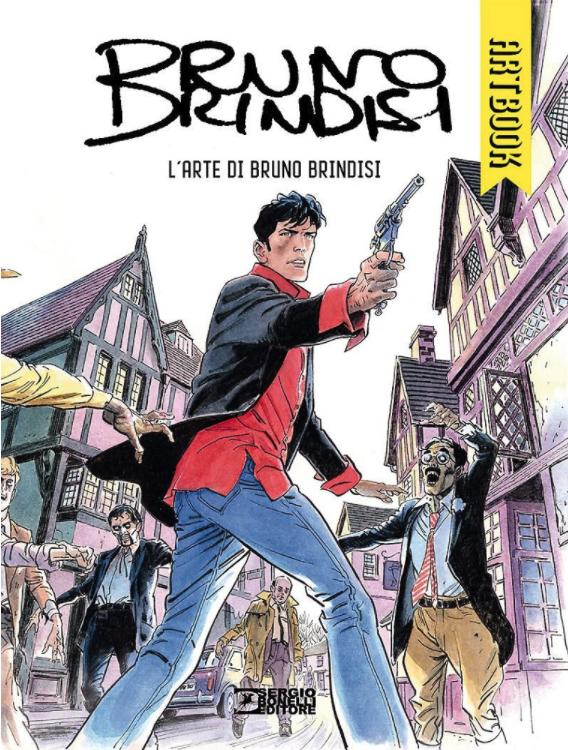 copertina COMIXREVOLUTION-BRUNO-BRINDISI-ARTBOOK-9788869612664