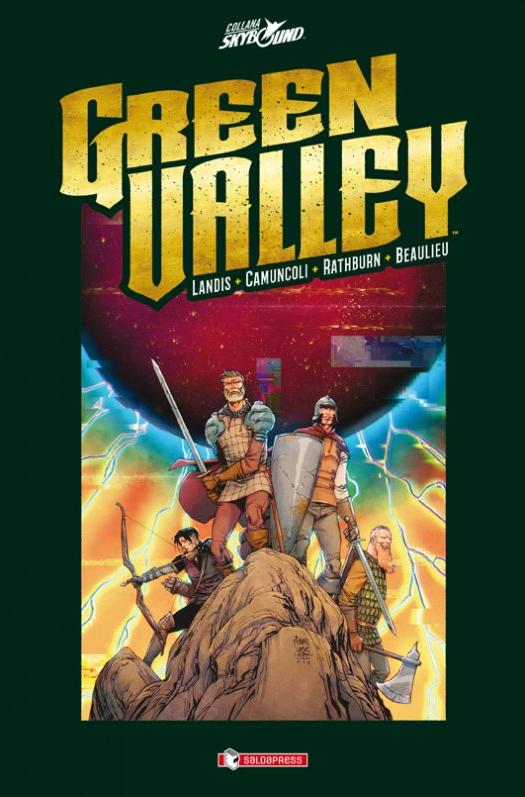 copertina COMIXREVOLUTION-GREEN-VALLEY-HC-9788869193927