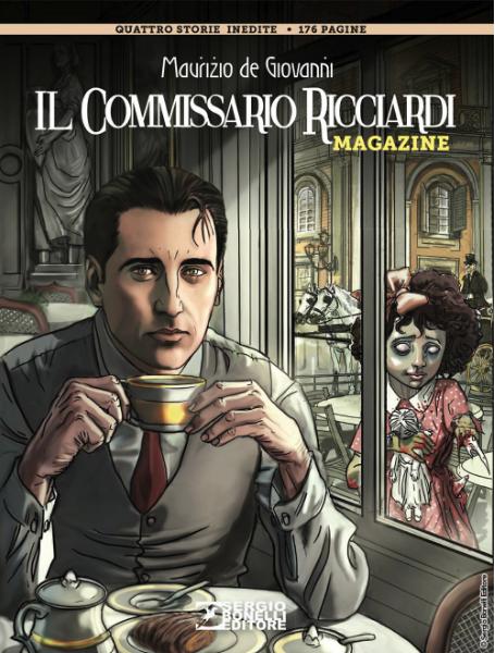 copertina COMIXREVOLUTION-IL-COMMISSARIO-RICCIARDI-MAGAZINE-1-977112262600380151