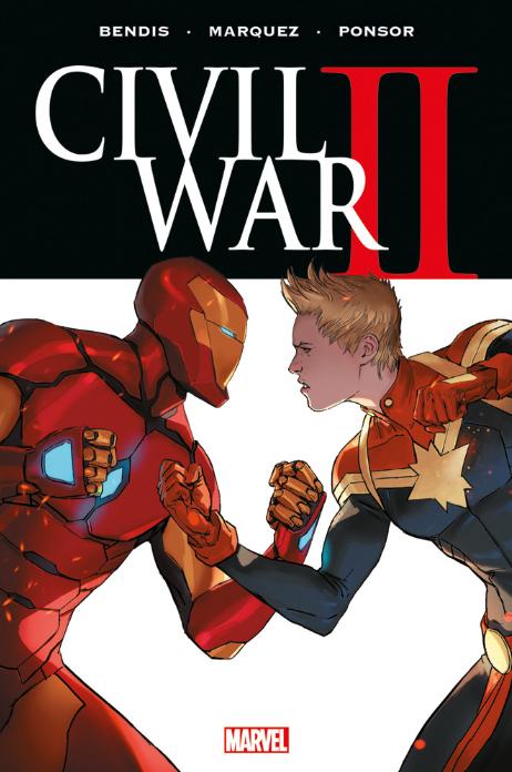 copertina COMIXREVOLUTION-MARVEL-OMNIBUS-CIVIL-WAR-II-9788891234445