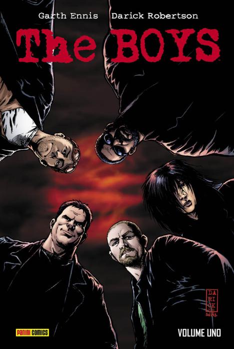 copertina COMIXREVOLUTION-THE-BOYS-DELUXE-1-9788891239549