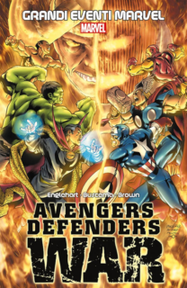 COMIXREVOLUTION-GRANDI-EVENTI-MARVEL-AVENGERS-DEFENDER-WAR-9788891240354