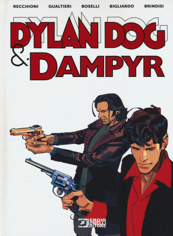 copertina COMIXREVOLUTION-BONELLI-VOLUMI-DYLAN-DOG-&-DAMPYR-9788869613074