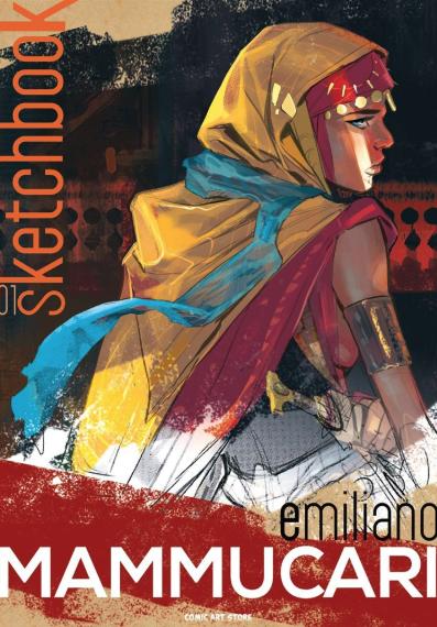 copertina COMIXREVOLUTION-COMIC-ART-EMILIANO-MAMMUCARI-SKETCHBOOK-1-9791220016971