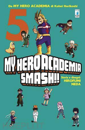 copertina COMIXREVOLUTION-MY-HERO-ACADEMIA-SMASH-5-DI-5-9788822611543
