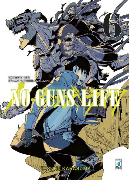 copertina COMIXREVOLUTION-STAR-COMICS-NO-GUNS-LIFE-6-9788822611598