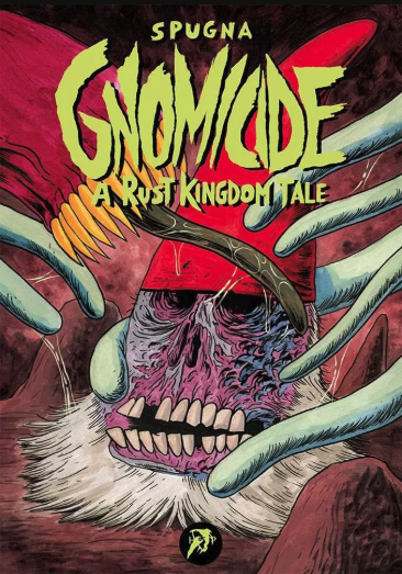 copertina COMIXREVOLUTION-HOLLOW-PRESS-GNOMICIDE-A-RUST-KINGDOM-TALE