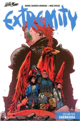 copertina COMIXREVOLUTION-SALDAPRESS-EXTREMITY-2-9788869194009