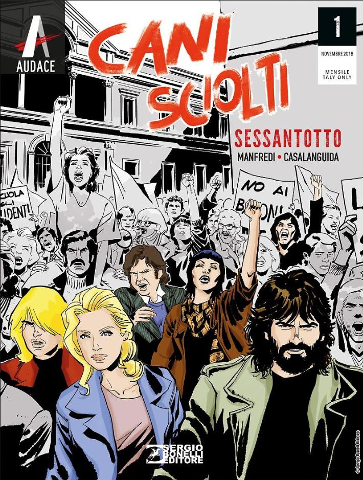 copertina COMIXREVOLUTION-SERGIO-BONELLI-EDITORE-CANI-SCIOLTI-EDICOLA-977261194004480001