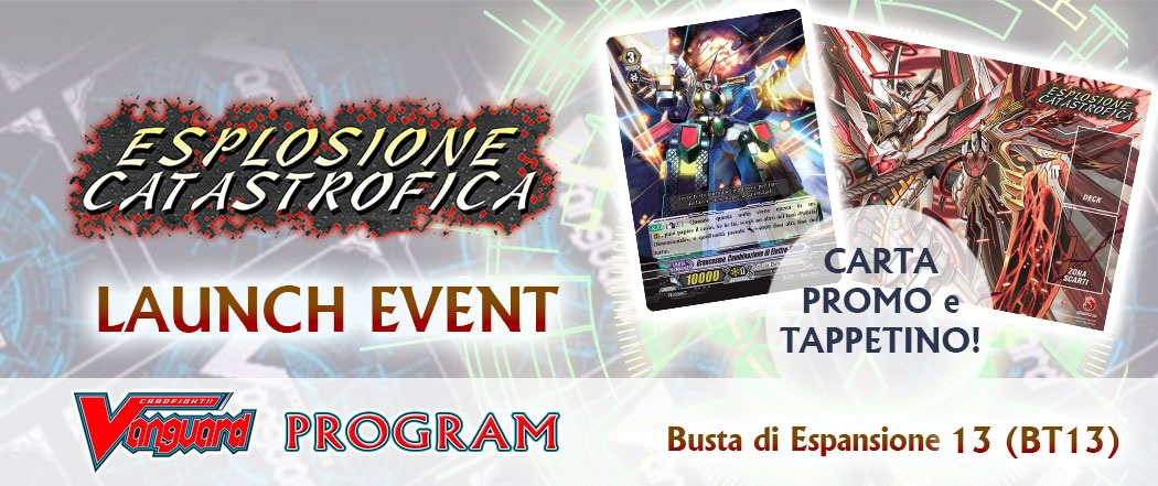 Banner Launch Event Vanguard: Esplosione Catastrofica BT13