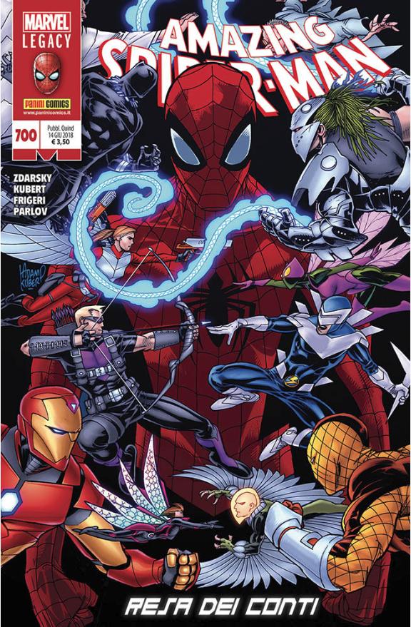copertina COMIXREVOLUTION-SPIDER-MAN-700-977112422690480700-977112422600380700