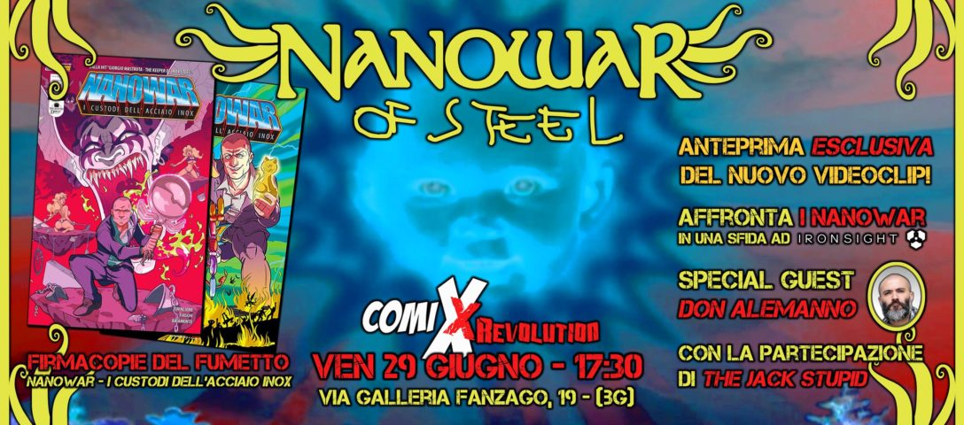 Nanowar of Steel comixrevolution