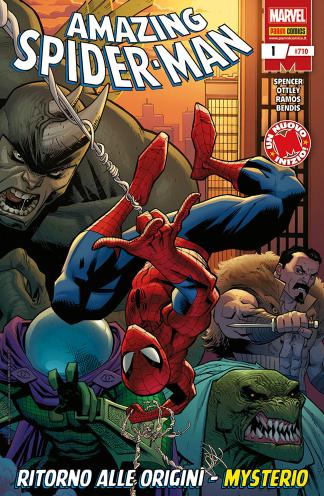 copertina COMIXREVOLUTION-PANINI-COMICS-SPIDER-MAN-710-SPIDER-MAN-1-977112422690480710-977112422600380710