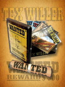 COMIXREVOLUTION-TEX-WILLER-METAL-BOX-9788869613463