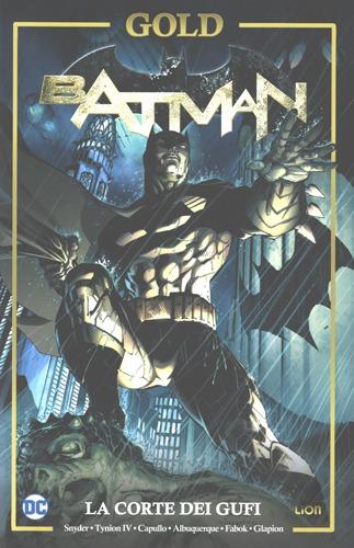 copertina COMIXREVOLUTION_batman_la_corte_dei_gufi_