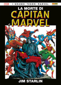 comixrevolution_la_morte_di_capitan_marvel_9788891242631