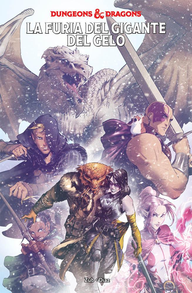 copertina comixrevolution_dungeon_and_dragons_3_9788891246127