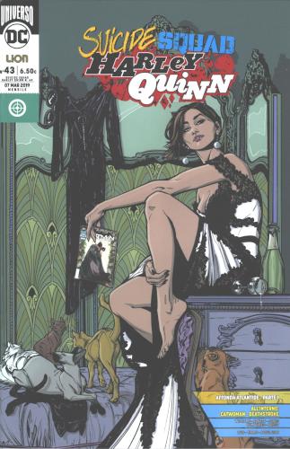 copertina comixrevolution_harley_quinn_and_suicide_squad_rebirth_variant_catwoman