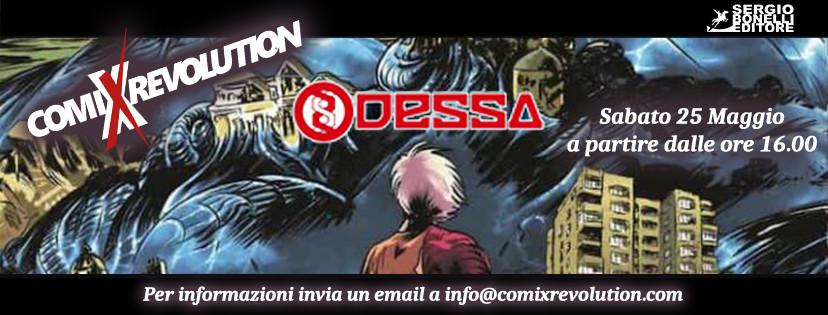 Bergamo: Incontro con l'autore di Odessa by Bonelli