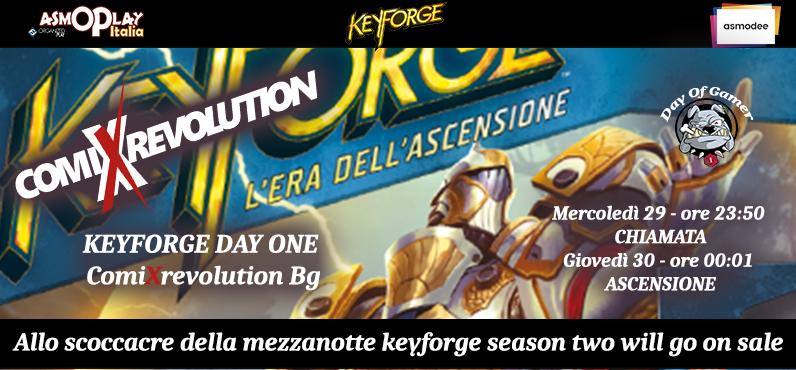 Keyforge l'era dell'ascensione in arrivo