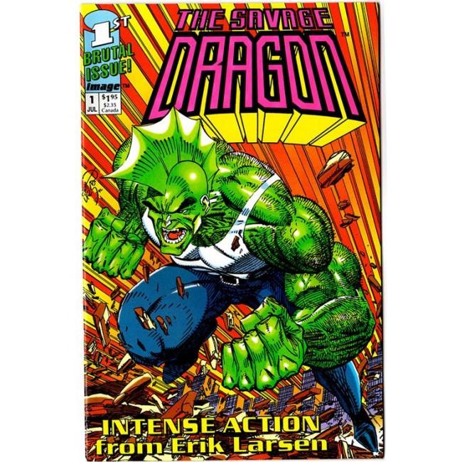 copertina comixrevolution_savage_dragon_1_-_battesimo_del_fuoco_9788869117800