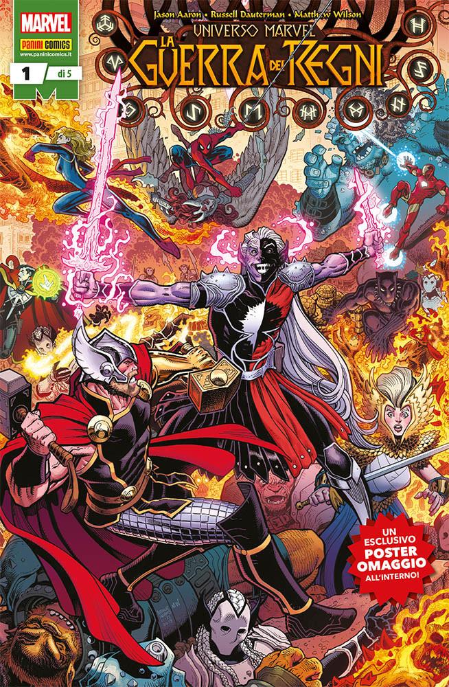 copertina comixrevolution_Universo_Marvel_La_Guerra_dei_Regni_1